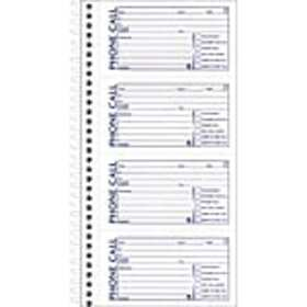 Adams® Phone Message Books, 5.5 x 11, 400 Sets/Boo