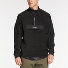 Timberland Men's Quarter-Zip Funnel Neck Fleece Sh