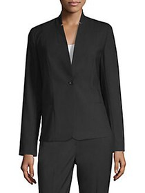 Elie Tahari Tori Seasonless Wool Jacket BLACK