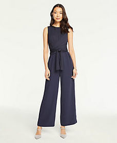 Tall Twist Front Belted Jumpsuit