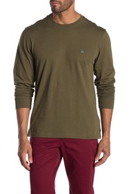 Brooks Brothers Classic Solid Long Sleeve T-Shirt