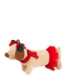 Zubels Knit Dog Doll 14