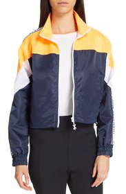 Opening Ceremony Crop Nylon Jacket