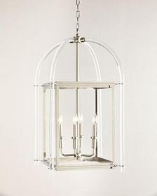 Acrylic Lantern Pendant Light