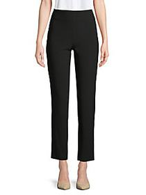 Moschino Slim-Fit Ankle Pants BLACK