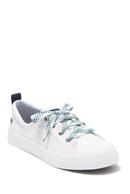 Sperry Crest Vibe Checkered Lace Sneaker