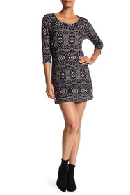 Papillon Multicolor Patterned Sweater Dress