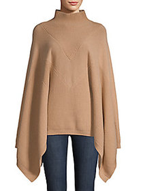 Givenchy Wide-Sleeve Cashmere Sweater CAMEL