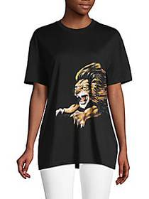 Givenchy Graphic Cotton Tee BLACK
