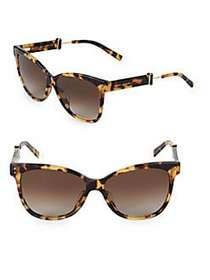 Marc Jacobs 55MM Butterfly Sunglasses BLACK