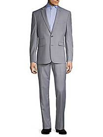 Vince Camuto Slim-Fit Wool-Blend Suit LIGHT BLUE