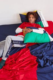 Tommy Hilfiger UO Exclusive Colorblock Sheet Set