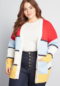 ModCloth ModCloth Way Out There Pocketed Cardigan