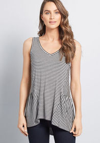ModCloth ModCloth In Every Direction Knit Tank Top