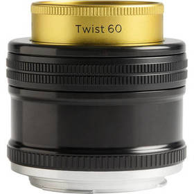 Lensbaby Twist 60 Optic with Straight Body for Nik