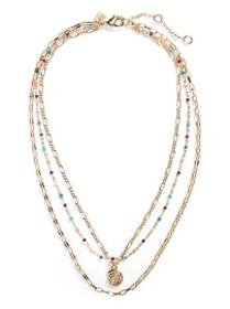 Summer Beads Triple Necklace