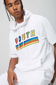 Forever21 French Terry Youth Graphic Hoodie