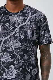 Forever21 Paisley Floral Print Tee
