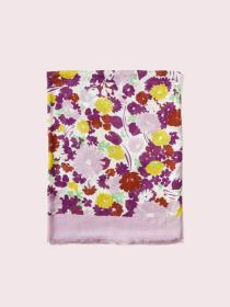 swing flora oblong scarf