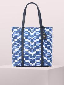 on purpose canvas north south tote