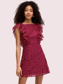 spade lace mini dress