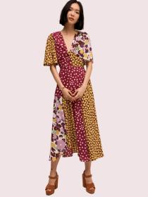 swing flora mix dress