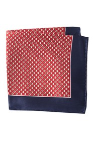 BOSS Silk Dot Pocket Square