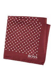 BOSS Silk Dot Print Pocket Square
