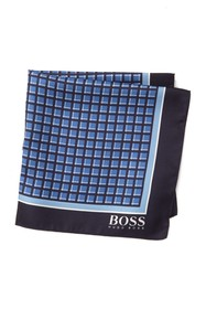 BOSS Silk Water Repellant Printed Pocket Square