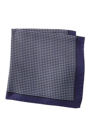 BOSS Silk Grid Pocket Square