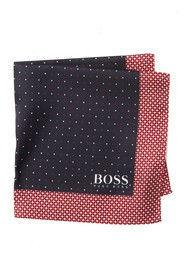 BOSS Silk Water Repellent Printed Pocket Square