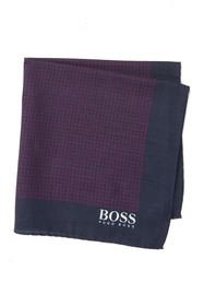 BOSS Silk Printed Pocket Square