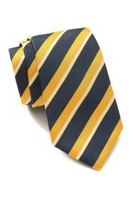 BOSS Silk Diagonal Stripe Tie
