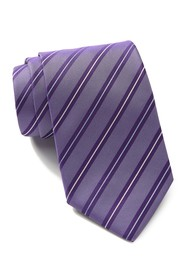 BOSS Silk Diagonal Stripes Tie
