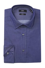 BOSS Chambray Slim Fit Dress Shirt