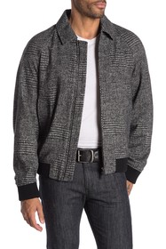 BOSS T-Cony Relaxed Fit Wool Blend Jacket