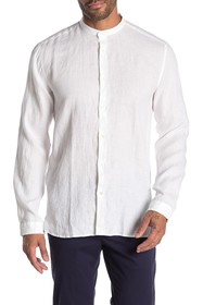 BOSS Eddison Relaxed Linen Shirt