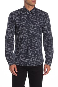 BOSS ERO3 HUGO Printed Extra Slim Fit Shirt