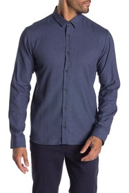 BOSS Button Front Extra Slim Fit Shirt