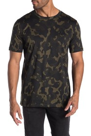 BOSS Short Sleeve Camo Print T-shirt