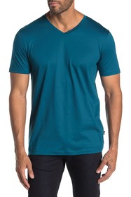 BOSS V-neck Solid T-shirt