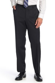 BOSS Leenon Black Solid Wool Suit Separates Pants