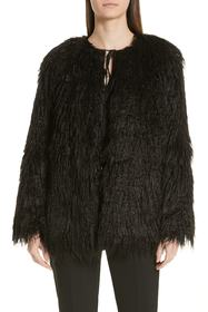 HUGO Fabea Faux Fur Coat