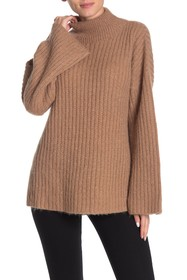 BOSS Fasina Funnel Neck Knit Sweater