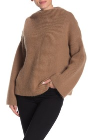 BOSS Fermana Funnel Collar Knit Pullover