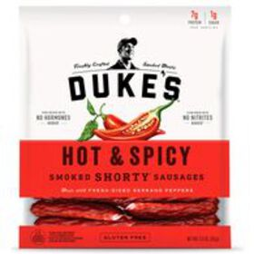 Duke's Hot & Spicy Smoked Shorty Sausages, 5 oz.