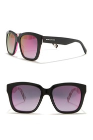 Marc Jacobs Polarized 52mm Square Sunglasses