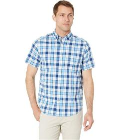 Nautica Casual Plaid Short Sleeve Shirt
