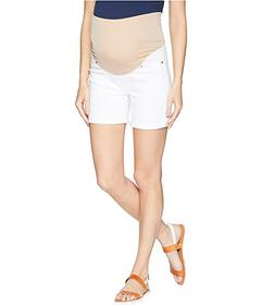 Liverpool Maternity Cuff Shorts in Comfort Stretch