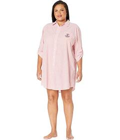 LAUREN Ralph Lauren Plus Size 3\u002F4 Sleeve Roll